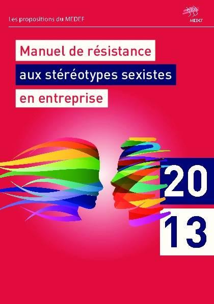 Vignette document Manuel de résistance aux stéréotypes sexistes en entreprise