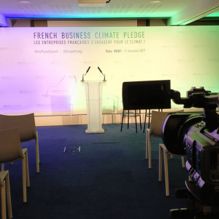 Présentation du French Business Climate Pledge