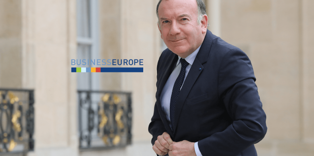Pierre Gattaz business europe